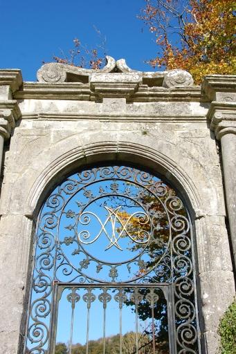 Entrance to Loughcrew's walled garden.